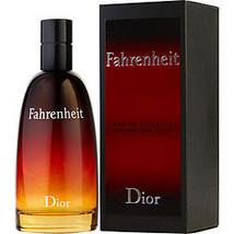 Fahrenheit By Christian Dior Edt Spray 3.4 Oz - $132.00