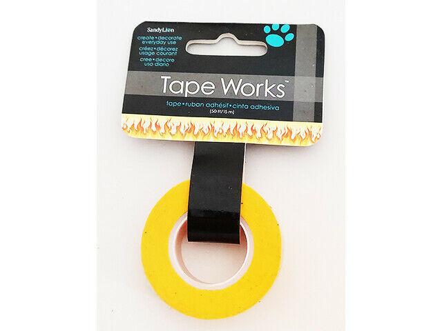 SandyLion Tape Works Flame Washi Tape #SC9529