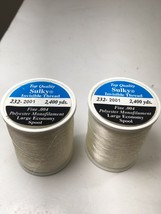 BTG NEW 2x Sulky Premium Invisible Thread 2,400 Yd Clear 727072620010 F/S - $22.72