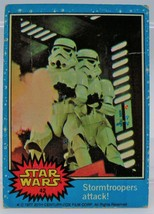 1977 Star Wars Series One Trading Card #42 Stormtroopers attack! - $2.96