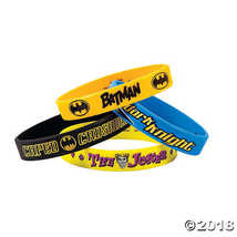 Batman™ Rubber Bracelets, Party Favor  - €4,41 EUR