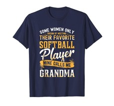Funny TeeSome Women Dream Softball Player Calls Me Grandma T-Shirt Men - $19.95+