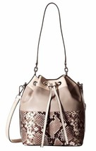 New Michael Michael Kors Dottie Women Large Leather Bucket Bag Variety C... - $280.95+