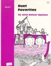 Bastien Piano Library Duet Favorites Level 1 - $3.95