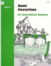 Bastien Piano Library Duet Favorites Level 3 NFMC Selection - $3.95
