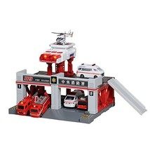 Tomica Tomica Town Build City Sound Light Fire Station From Japan - £38.76 GBP