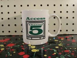 Chautauqua New York Public Access Cable Channel 5 TV Station Coffee Mug - $9.25