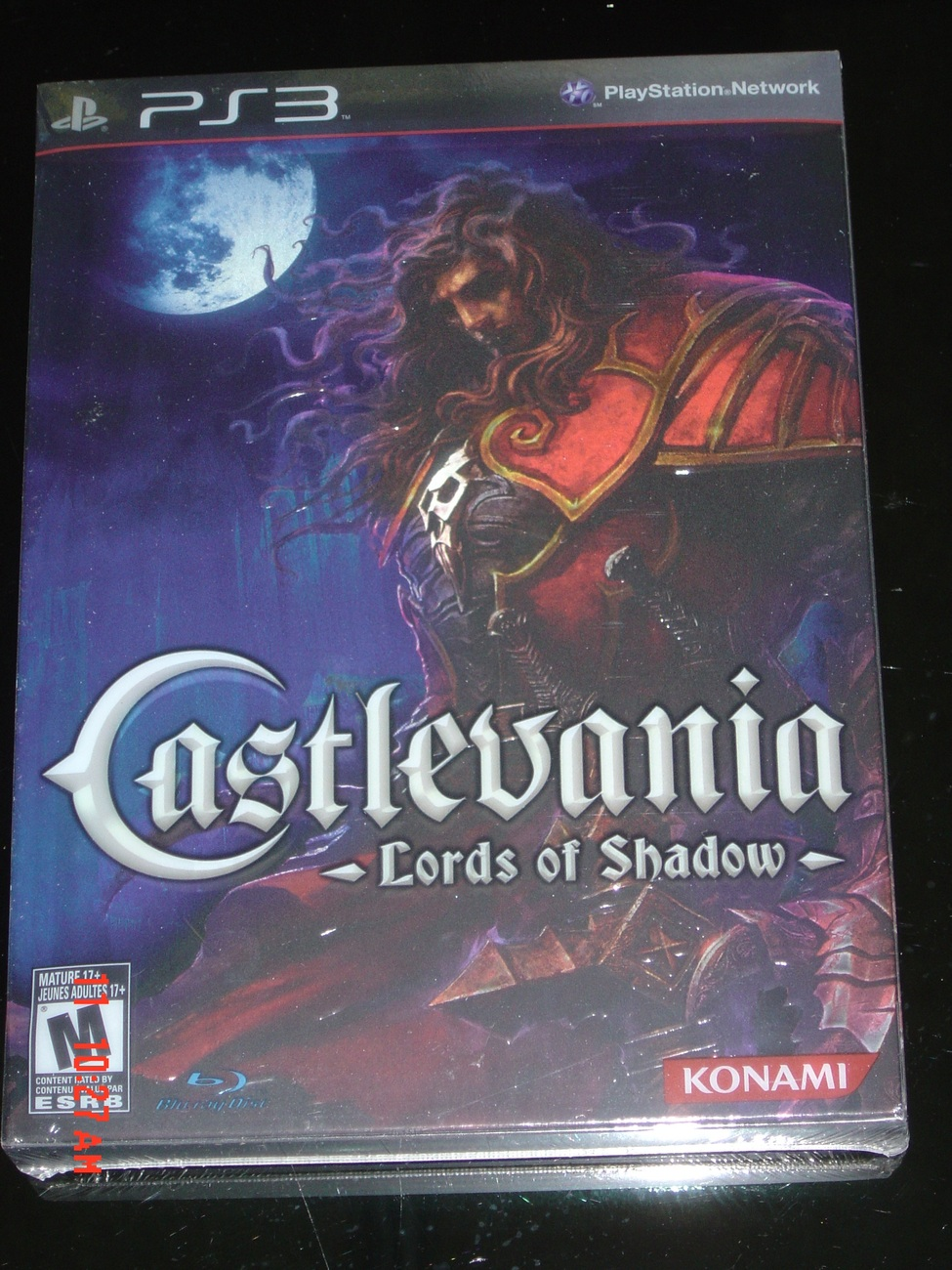 CASTLEVANIA LORDS OF SHADOW  LIMITED EDITION NEW AND SEALED RARE