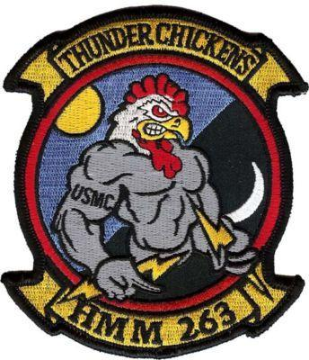 Primary image for USMC HMM-263 Vietnam Helicopter Military Patch