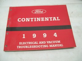 Ford 1994 Continental Electrical and Vacuum Troubleshooting Manual - $13.85