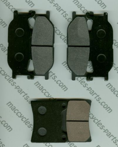 Yamaha Disc Brake Pads XJ900S Diversion 1995 Front & Rear (3 sets)