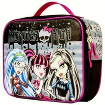 MONSTER HIGH FRANKIE DRACULAURA PVC & Lead-Free Insulated Lunch Tote Box... - $12.86