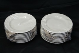 "Oneida Espree Restaurant Ware Bread Plates 6.25"" Lot of 18 - $48.99"
