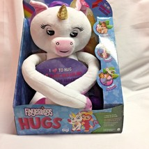 Gigi Fingerlings Hugs Advanced Interactive Unicorn Plush 40+ Sounds WowWee - $55.43