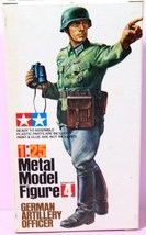 1:25 German Artillery Officer Metal Model Figure Kit No  MF 004 Series N... - $11.75