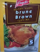 24 French's Brown Gravy Mix 21g Each -From Canada Fresh Delicious - $58.14