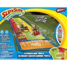 "Wham-O's Hydroplane Triple XL 3-Lane ""Slip 'N Slide"" Water Slide - $45.47"