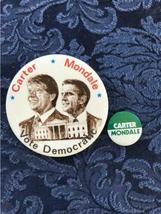 Lot of 18 Political Buttons Pinback Nixon Johnson Obama Carter Dole Bush Agnew image 10
