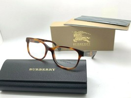 Burberry Eyeglasses FRAME B 2263 3316 HAVANA 51-18-140MM ITALY NIB - $106.67