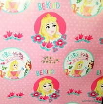 Sleeping Beauty Wrapping Paper Sheet Gift Book Cover Party 2-SH Princess... - $14.80
