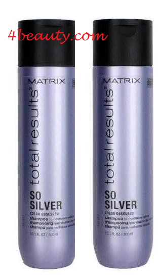 Primary image for Matrix Total Results So Silver Shampoo 10oz (pack of 2)