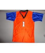 Orange & Blue #1 NCAA College Florida Gators Screen Football Jersey Yout... - $15.68