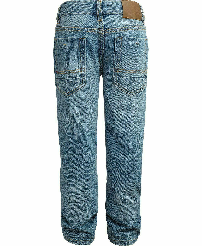 Tommy Hilfiger Nwt Big Boys Rebel Jeans Skinny Fit Taglia 8 Affliggere KD853 image 2