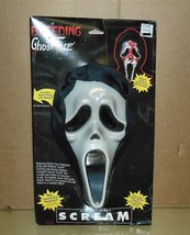 1997 Motion Picture SCREAM-Bleeding Ghost Face Mask-MIP - $19.79