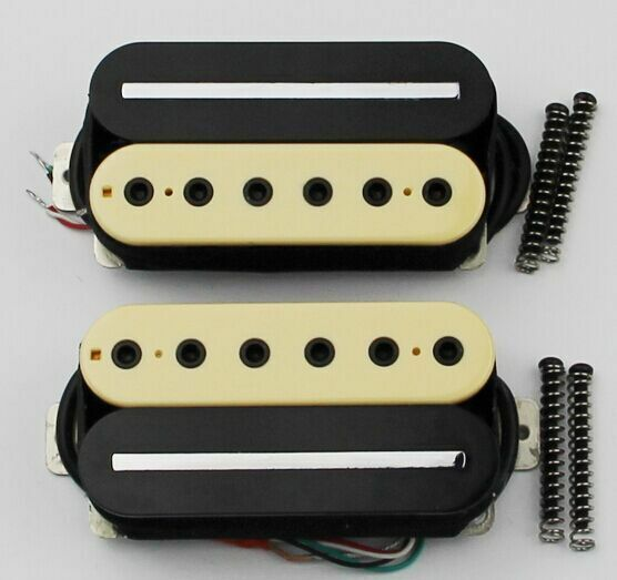 Primary image for Hot Rail Humbucker with neck and bridge from Korea