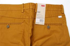 Levi's Strauss 513 Men's Slim Straight Fit Cotton Pants 513-0015 image 6