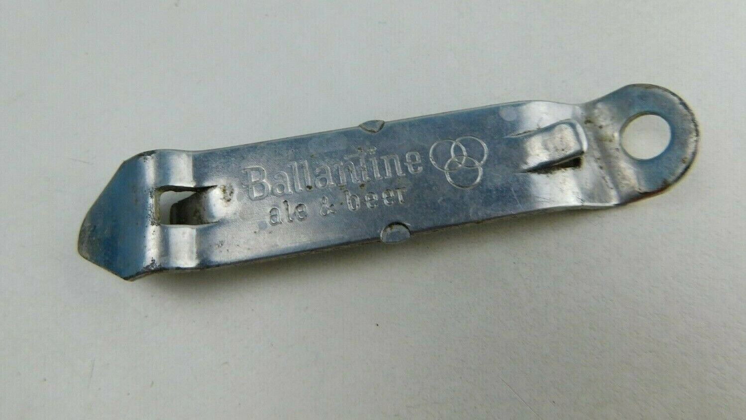 Primary image for VINTAGE BALLATINE ALE BEER Bottle Cap CAN OPENER ADVERTISING METAL
