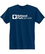 Hanes National Park Service Graphic Tee Shirt Navy Blue Men's Size Large-3XL - $9.95