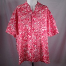Royal Creations Hawaiian Shirt XL Aloha Floral Batik Matched Pocket Bota... - $39.50