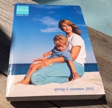 VINTAGE 2003 JC PENNY BIG BOOK CATALOG SPRING & SUMMER CLOTHES HOME DECO... - $48.97