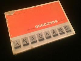 Vintage 1964 Scrabble Anagrams game- complete set image 5