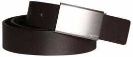 Calvin Klein Men's Reversible Premium CK Logo 35mm Harness Belt Brown 7511296 image 2