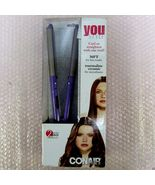 CONAIR-360'F Tourmaline Ceramic Styler YOU STYLE-Curl or Straighten with... - $29.99