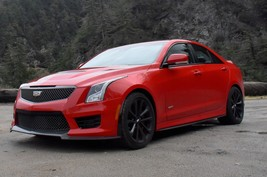 New Gm Oem Rear Spoiler Wing Air Dam Cadillac ATS-V Sedan 13-18 Ats Red G7C Race - $183.15