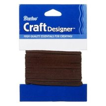 Better Crafts Sueded Cord Dkbrown 3MM 3YD (3 Pack) (01999-4820) - $12.83