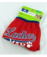 Top Male Dog Cover Up Wrap Diaper Belly Band Large Red Paw Ladies Man Wa... - $10.99