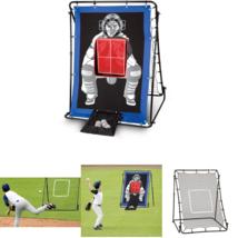 Franklin Sports MLB 2in1 Multi Position Baseball Return Trainer Rubber S... - $60.98