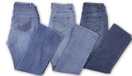 Sonoma Womens Lot of Blue Denim Jeans Size 6 Straight Leg Boot Cut - $24.74