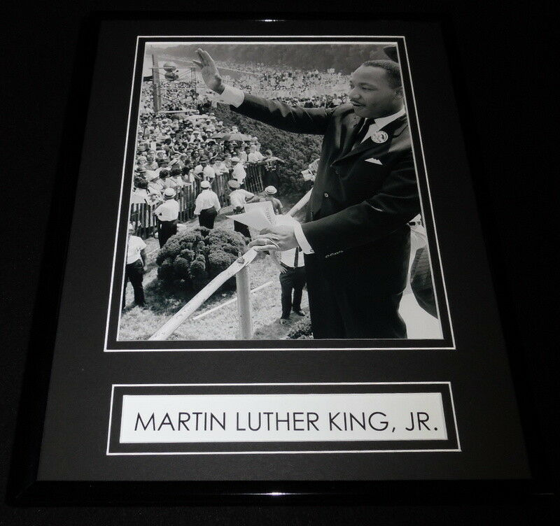 Primary image for Martin Luther King, Jr. Framed 11x14 Photo Display