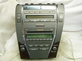 07 08 09 Lexus ES350 Radio 6 Cd Changer MP3 & Climate 86120-33E40 P1869 TZN67 - $45.54