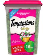 Temptations Classic Cat Treats, Blissful Catnip Flavor, 16 Oz. Tub - $12.99+