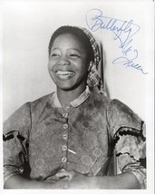 BUTTERFLY McQUEEN Autograph on 8x10 Gone With The Wind pose - $173.25