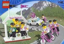 Lego 1199 Telekom Race Cyclists And Winners' Podium / Winning Team Lego - $308.16