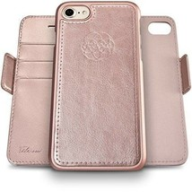 Dreem Fibonacci RFID 2-in-1 Rose Gold Wallet-Case for iPhone 7 & 8s - $19.80