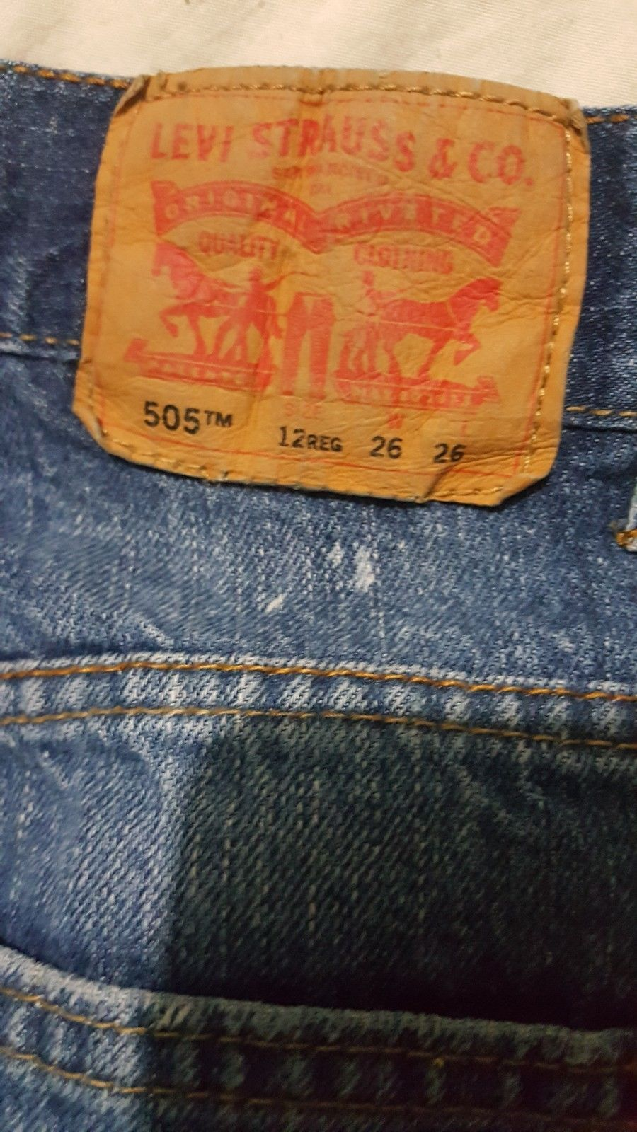 ad8dbc9a71e Levis 505 Boys Medium Wash Regular Fit Jeans and 50 similar items