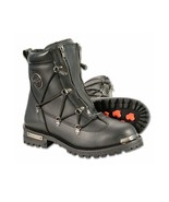 MEN'S TWIN ZIPPER FRONT ENTRY BOOT W/ ROUND TOE. MBM9075 - $119.99+
